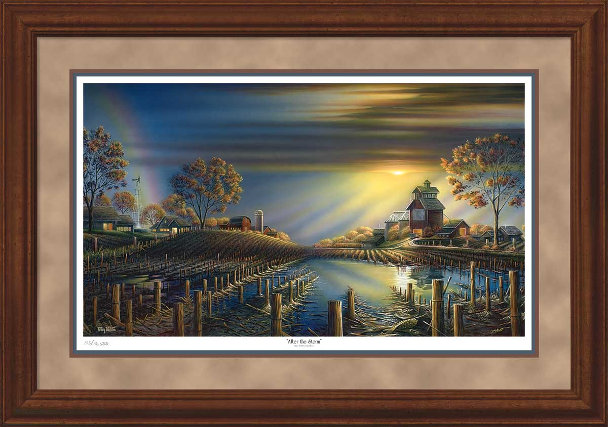 Terry Redlin - After the Storm - Framed