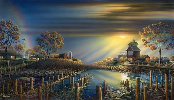 Terry Redlin - After the Storm