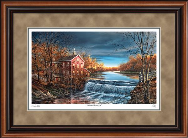 Terry Redlin - Autumn Afternoon - Framed