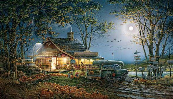 Terry Redlin - Autumn Traditions