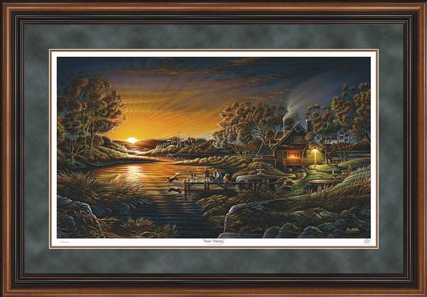 Terry Redlin - Basic Training - Framed