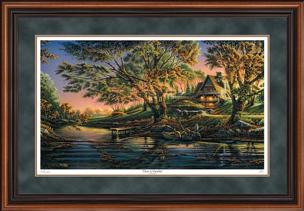 Terry Redlin - Close to Paradise - Framed