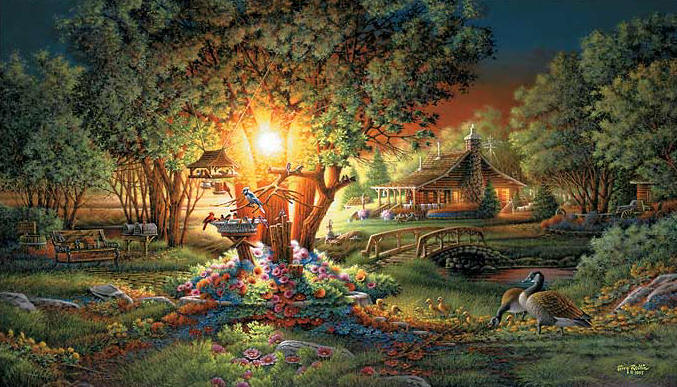 Terry Redlin - The Colors of Spring