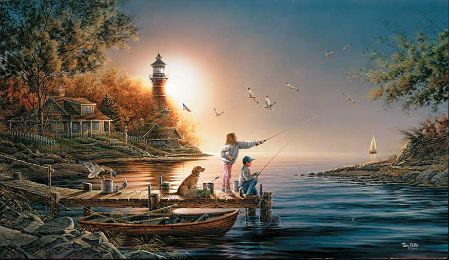 Terry Redlin - From Sea to Shining Sea