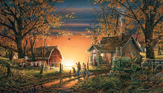 Terry Redlin - Morning Surprise