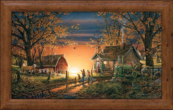 Terry Redlin - Morning Surprise - Framed