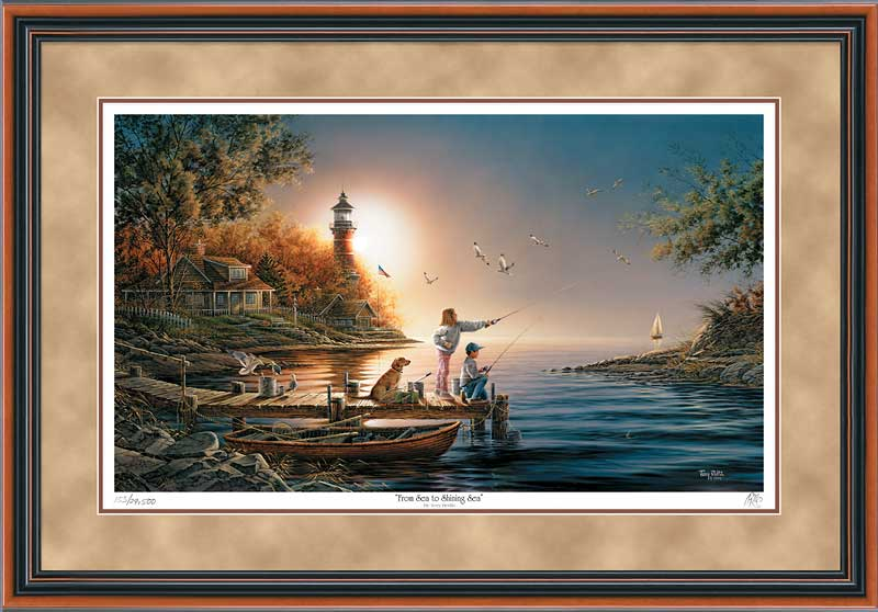 Terry Redlin - From Sea to Shining Sea - Framed