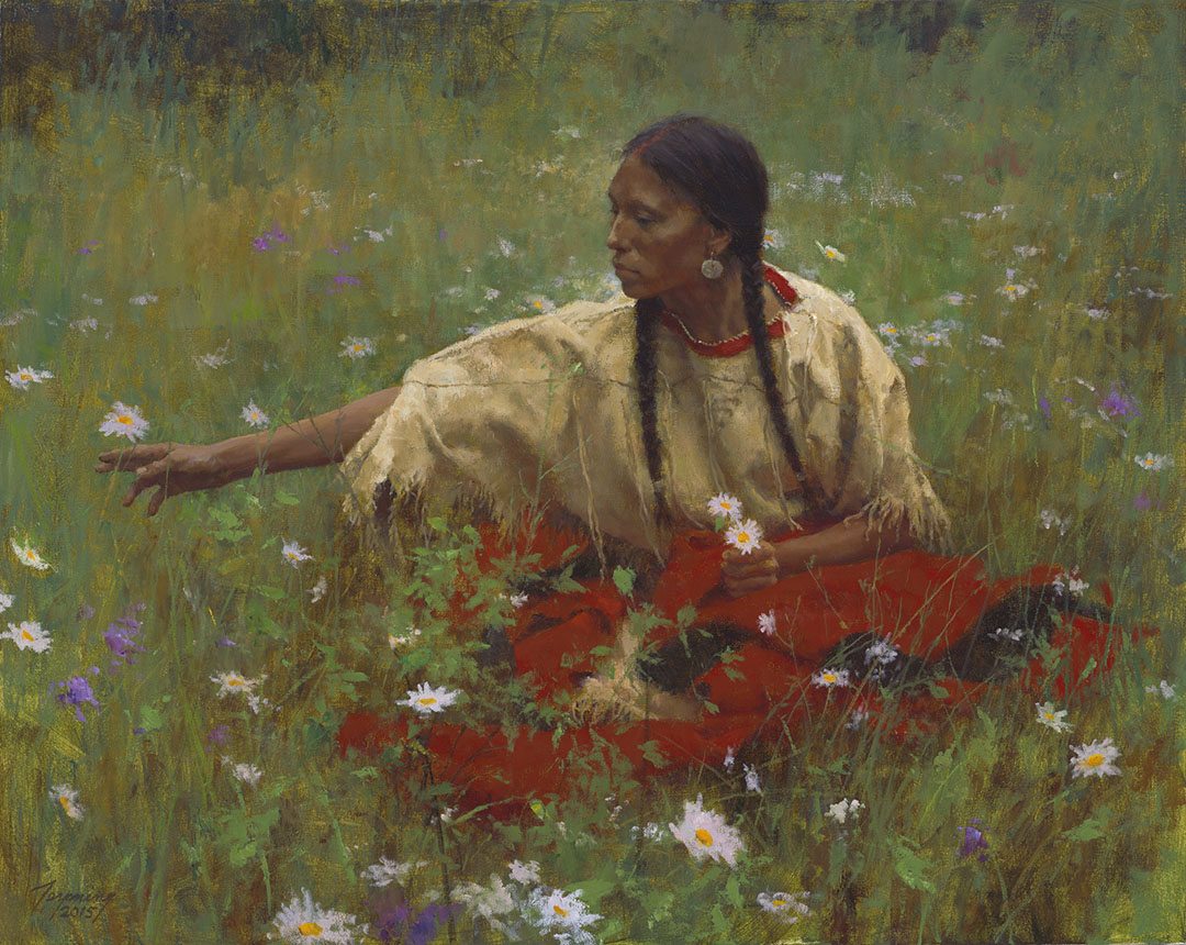 Howard Terpning - Beauty in the Field