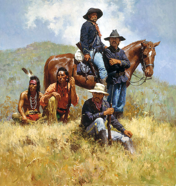 Howard Terpning Before The Little Big Horn Artusa Com