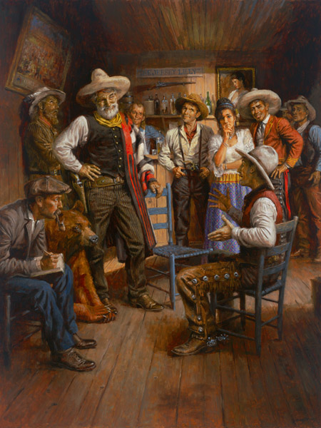 Andy Thomas - Judge Roy Bean and His Court