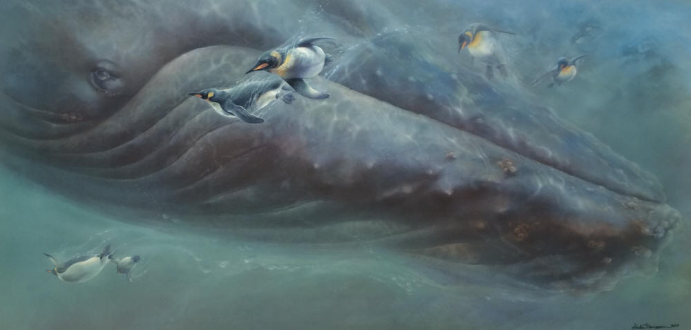 Linda Thompson - Follow the Leader - Humpback Whale & Penguins