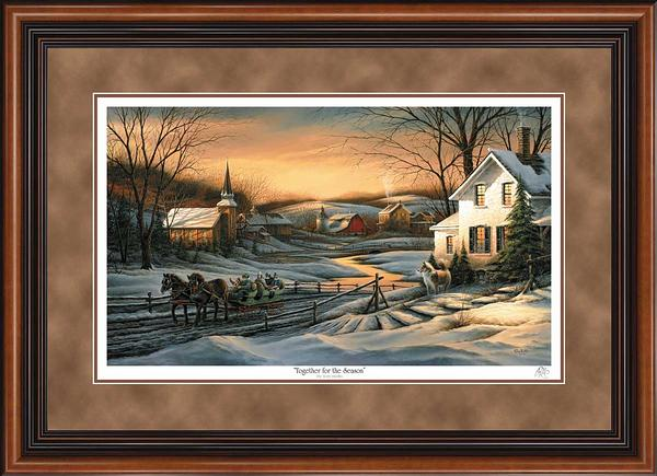 Terry Redlin - Together for the Season - Framed