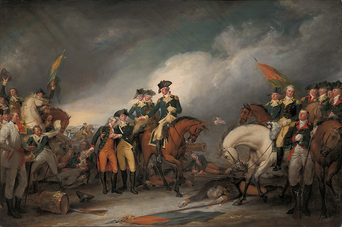 John Trumbull - The Capture of the Hessians at Trenton, December 26, 1776
