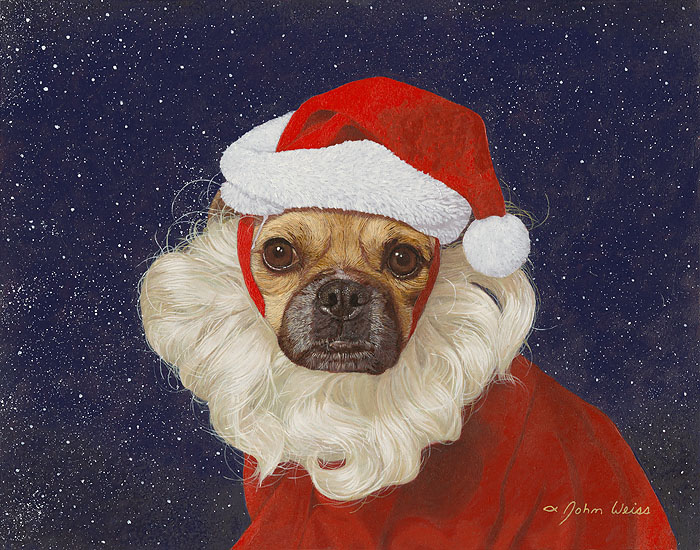 John Weiss - Kami Claus (Original Painting)