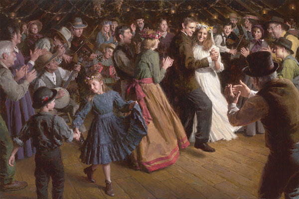 Morgan Weistling - The First Dance, 1884 Americana