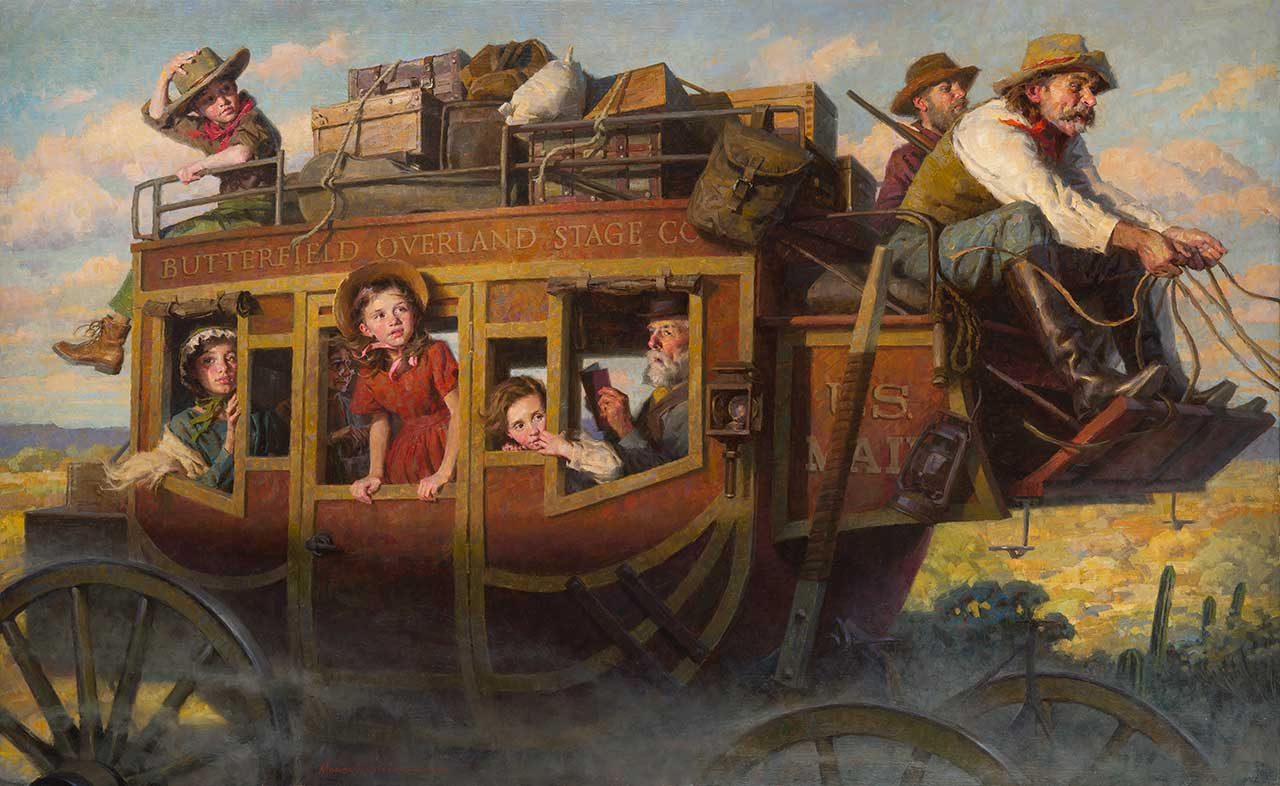 Morgan Weistling - The Stagecoach Journey