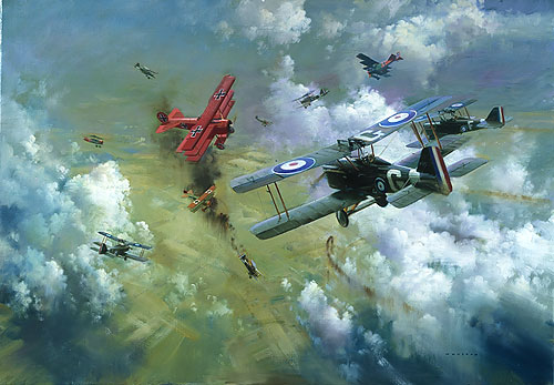 Frank Wootton - Encounter with the Red Baron