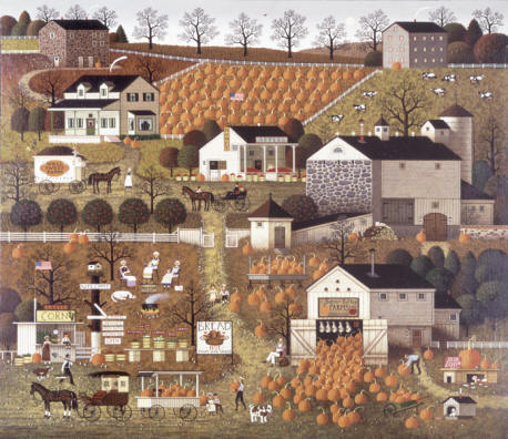 Charles Wysocki - Bread and Butter Farms - Stretched