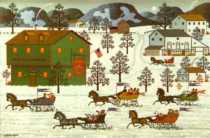 Charles Wysocki - Country Race