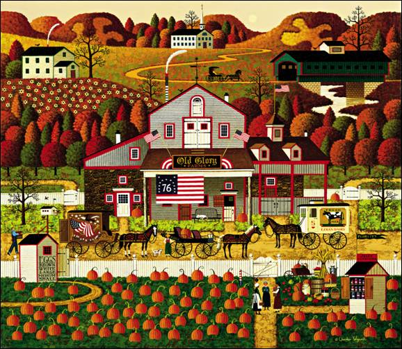 Charles Wysocki - Old Glory Farms (Imperfect)