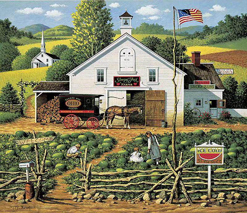 Charles Wysocki - Catchin' Bugs (Imperfect)