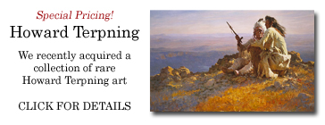 Howard Terpning - Rare Collection